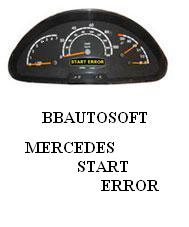 REPARATIE MERCEDES VITO-SPRINTER START ERROR